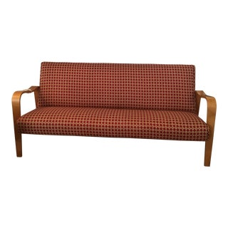 1950's Danish Modern Thonet Bentwood Sofa For Sale