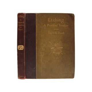 Etching: A Practical Treatise by Earl H. Reed For Sale