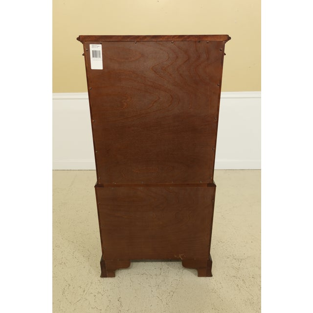 Century 8 Drawer Chippendale Style Mahogany Lingerie Chest For Sale - Image 9 of 11