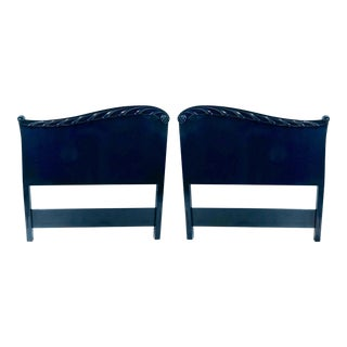 Pair of John Stuart Hollywood Regency Twin Headboards For Sale