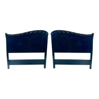 Pair of John Stuart Hollywood Regency Twin Headboards For Sale
