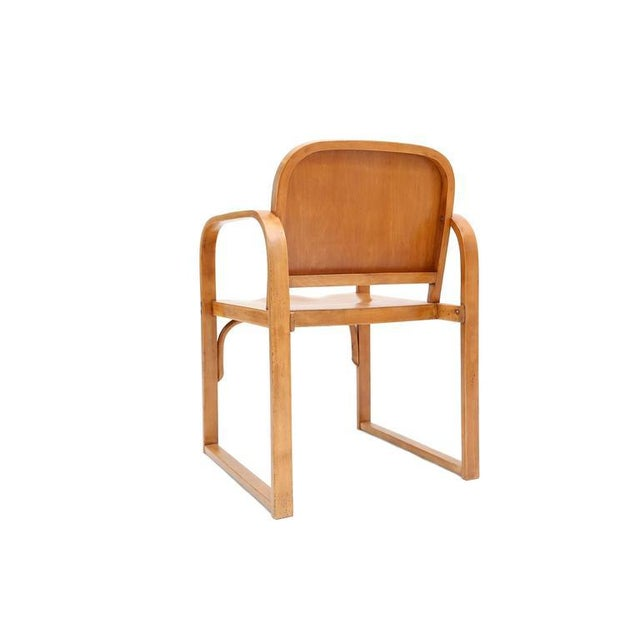 Czech Plywood Chair Tatra For Sale - Image 4 of 8