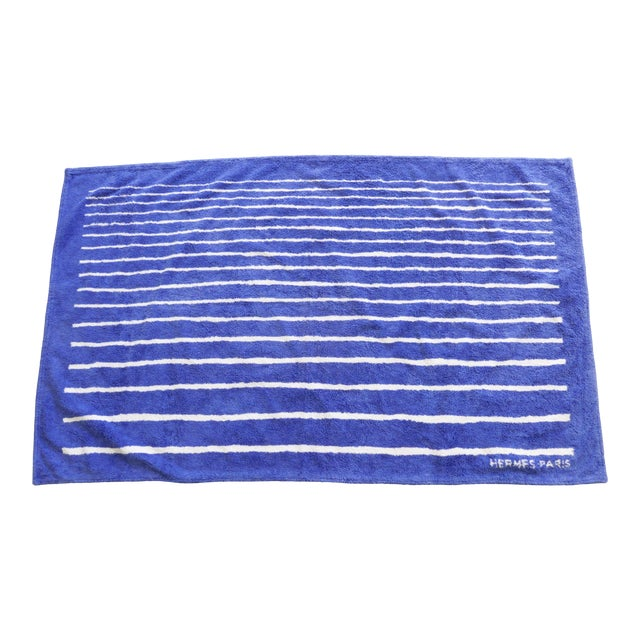 Hermes Mediterranean Special Edition Beach Towel For Sale