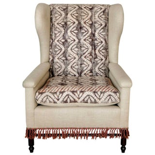 Early 20th Century Restored Bohemian Wingback Chairs - a Pair Preview