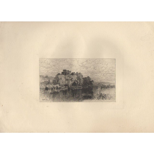 A.F. Bellows (1829-1883) Etching - Image 2 of 3