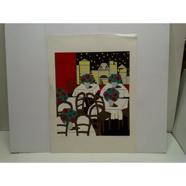 "Ann T. Cooper Signed Numbered (184/200) ""The American Plan"" Print For Sale In Pittsburgh - Image 6 of 6"
