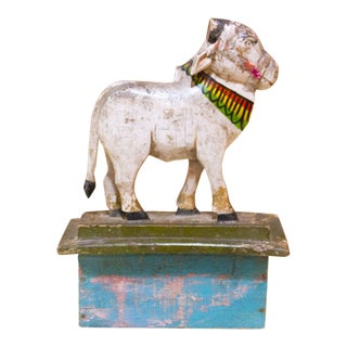 Heer Nandi Wooden Figure For Sale