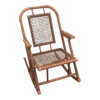 Hunzinger Rocking Chair Original Condition For Sale