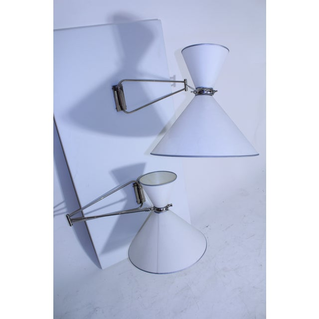 Multi Articulated Lunel Sconces For Sale In New York - Image 6 of 8