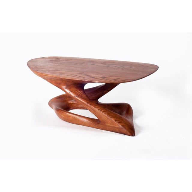 Amorph Plie´ Coffee Table, American Walnut For Sale In Los Angeles - Image 6 of 6
