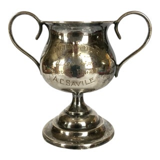"""Trophy Cup Silver Plated """"1924 Bridlington Speed Trials"""" For Sale"""