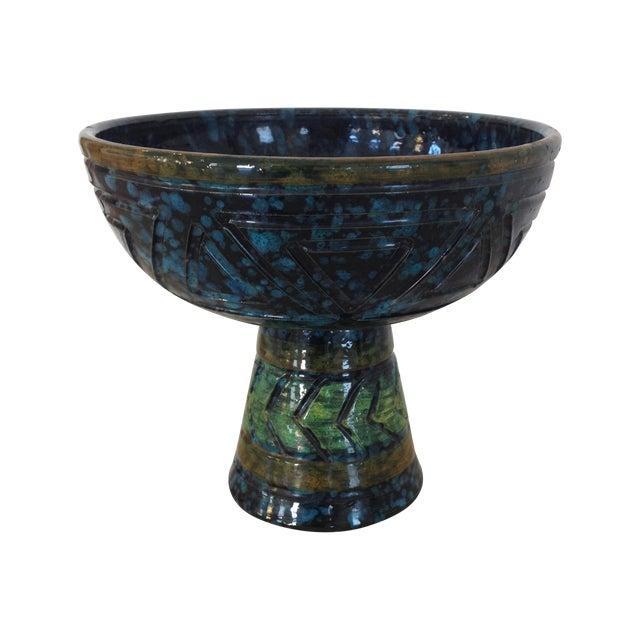 Bitossi Mid-Century Pedestal Bowl - Image 1 of 5