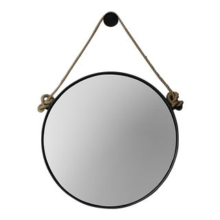 Restoration Hardware Rope Mirror For Sale