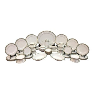 """Royal Worcester China """"Devonshire"""" China - 78 Pieces For Sale"""