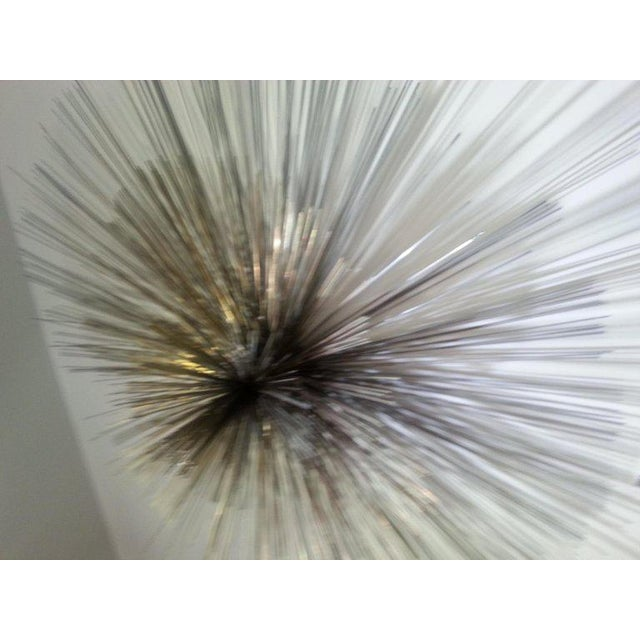 Mid-Century Modern, Curtis Jere metal pom pom wall sculpture. NOTE - WE CAN ASSIST WITH CUSTOMER ARRANGED SHIPPING: SELECT...