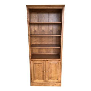 (A) Ethan Allen Country Colors Bookcase Cabinet (Finish 214) For Sale
