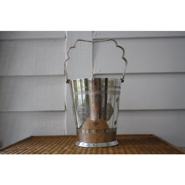 Moorish Style Silver Ice Bucket - Image 9 of 11