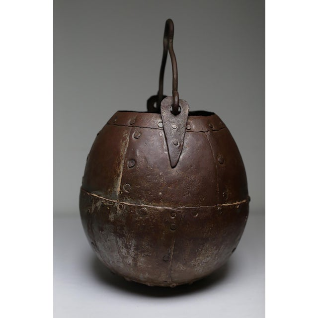 Vintage Handmade Metal Bucket - Image 5 of 5