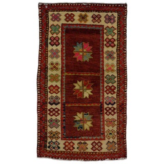 20th Century Turkish Oushak Rug - 2′6″ × 4′3″ For Sale
