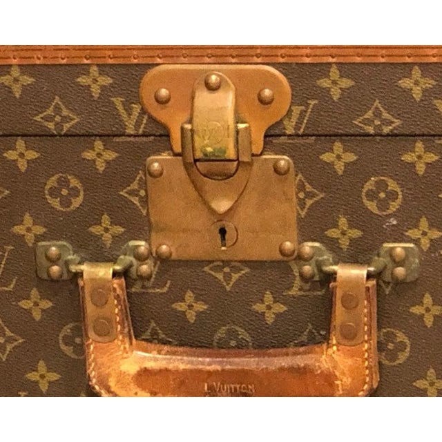 Gold Louis Vuitton Suitcase in the Iconic Monogram Canvas For Sale - Image 8 of 12