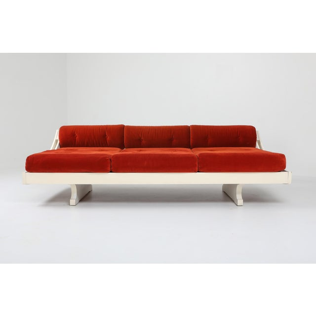 1960s Gs195 Daybed and Sofa by Gianni Songia For Sale - Image 4 of 11