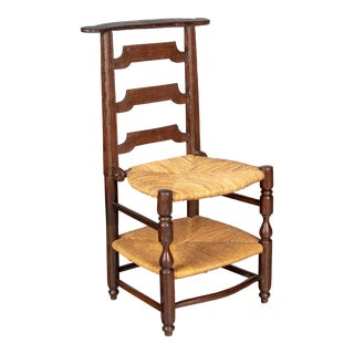 17th Century Country French Prie-Dieu Chair For Sale