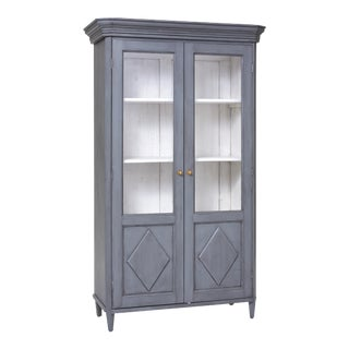 Gustavian Style Bookcase For Sale
