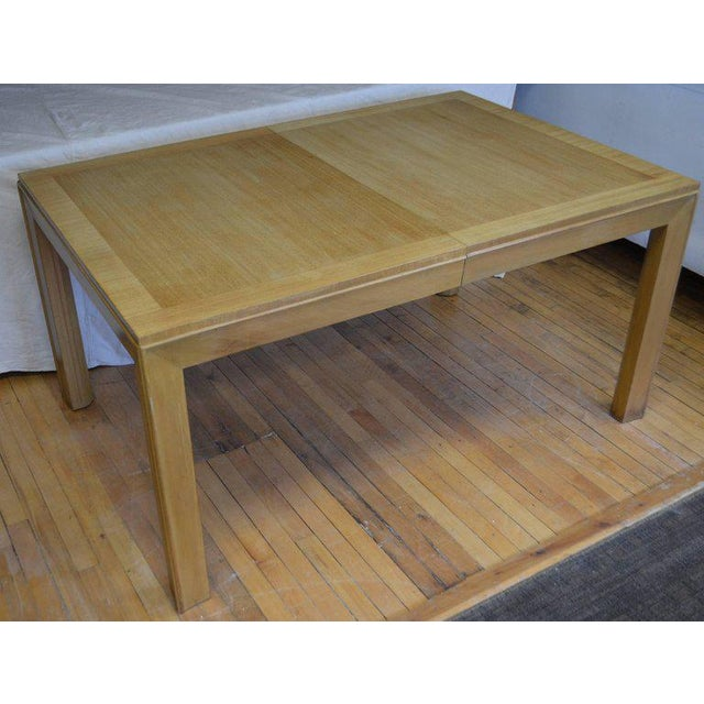 T.H. Robsjohn-Gibbings Dining Table With Two Leaves Designed by Robsjohn-Gibbings for Widdicomb For Sale - Image 4 of 13