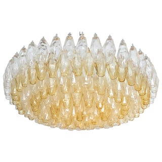 Poliedri Italian Modern Chandelier For Sale