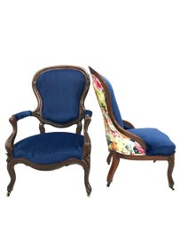 Image of Victorian Slipper Chairs