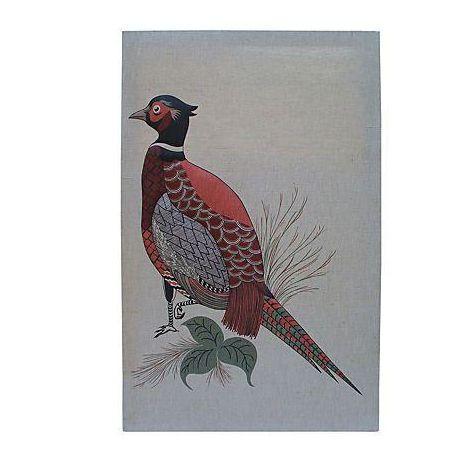 Vintage Pheasant Wall Hanging - Image 1 of 7