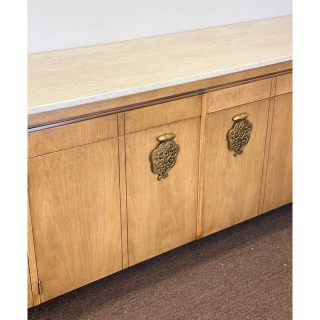 Asian 1960s Bert England for Johnson Furniture Company Credenza For Sale - Image 3 of 12