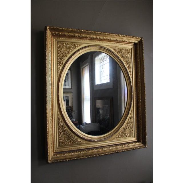 Antique Gilt-Wood Framed Mirror - Image 2 of 5