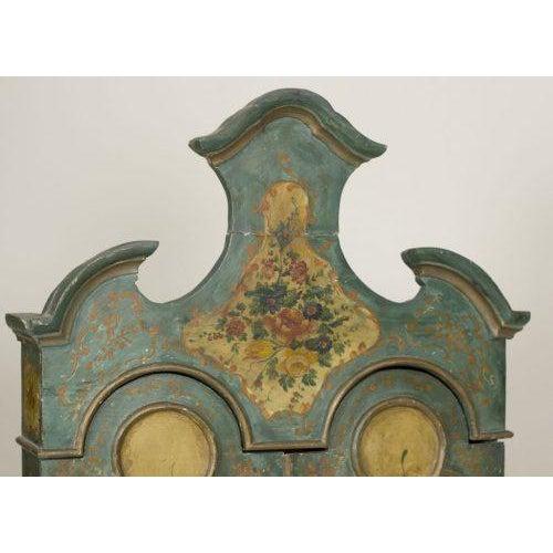 Early 20th Century Louis XVI Oak Venetian Secretary For Sale - Image 4 of 5