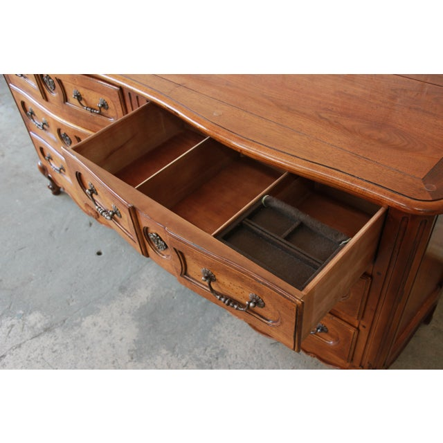 Pierre Deux French Country Double Dresser by Henredon For Sale - Image 9 of 11