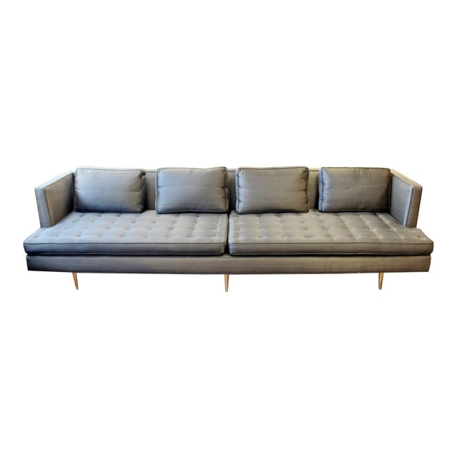 Mid-Century Modern Edward Wormley for Dunbar Chamberlain Model 4907a Sofa For Sale