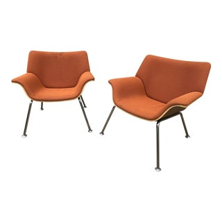 Herman Miller Swoop Chairs by Brian Kane - a Pair