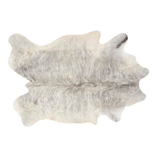 Silver Brindle Genuine Brazilian Cowhide For Sale