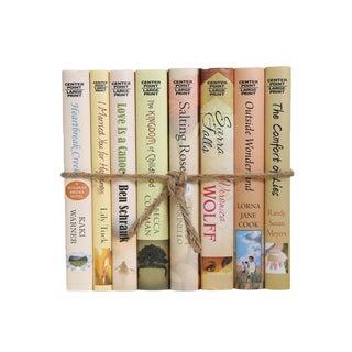 Modern Novels in Seashell, S/8 For Sale