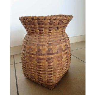 Mid 20th Century Handmade Appalachian Basket Preview