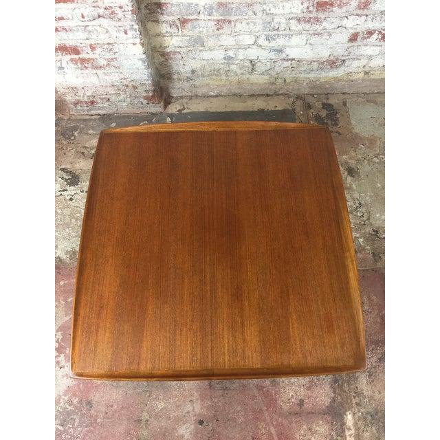 Chestnut 1980s Scandinavian Modern Dux Sweden Teakwood Coffee Table For Sale - Image 8 of 13