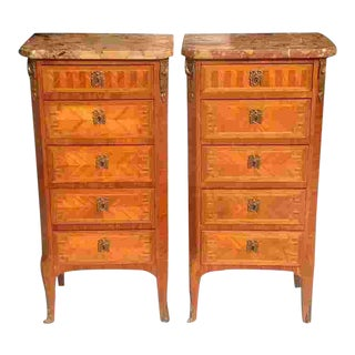 Pair of Early 20th C. French Cabinets For Sale