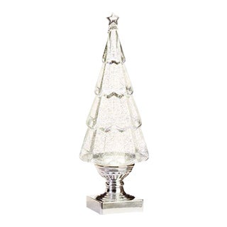 Kenneth Ludwig Chicago Clear Swirling Glitter Led Tree For Sale