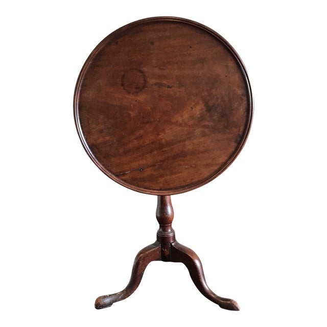 19th C. Tilt-Top Table - Image 1 of 11