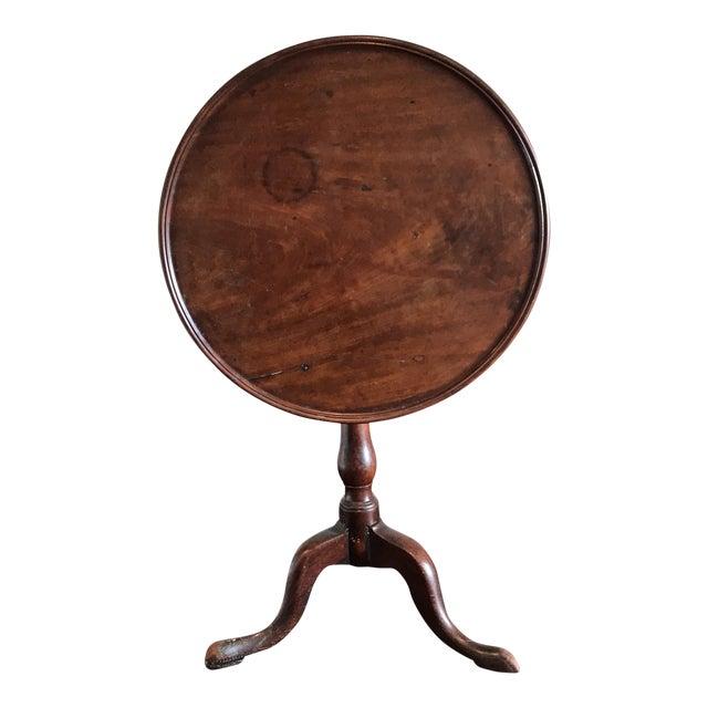 19th C. Tilt-Top Table For Sale
