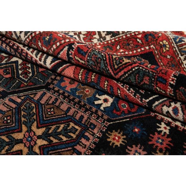 1960s Vintage Bakhtiari Wool Rug 4'4'' X 7'2'' For Sale - Image 5 of 12