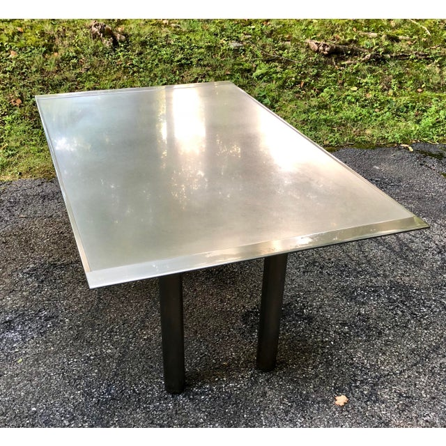 Fantastic custom sized version of SSS-2000 table by Brueton, designed by Stanley Friedman. Heavy duty and sturdy. Perfect...