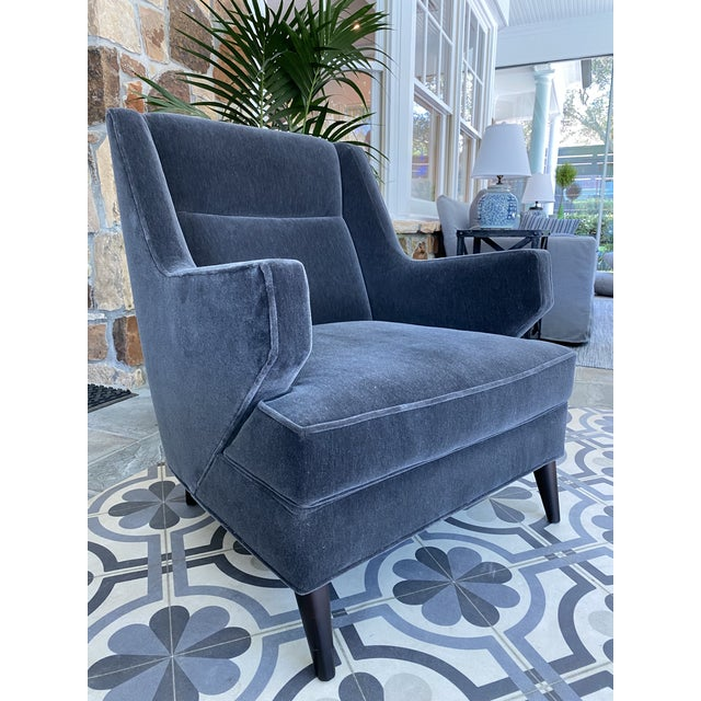 Mid-Century Modern Benjamin Club Chairs - Set of 4 For Sale - Image 3 of 6