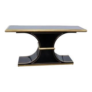 20th Century Art Deco Mastercraft Console Table For Sale