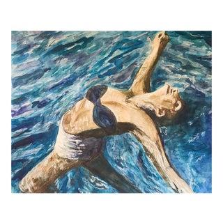 "Original ""Floating"" Watercolor Illustration"